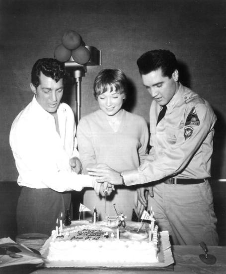 Dean Martin, Shirley MacLaine & Elvis Presley