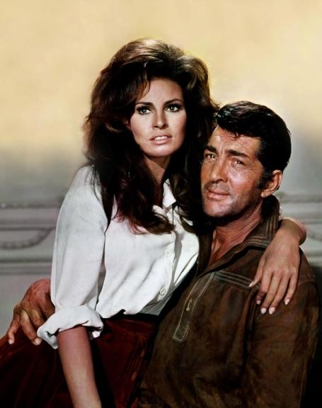 Raquel Welch & Dean Martin in BANDOLERO! (1968)